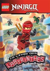 Lego Ninjago, masters of Spinjitzu : le livre des labyrinthes. Volume 1