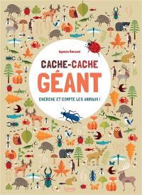 Cache-cache géant : cherche et compte les animaux !