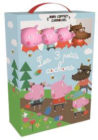 Les trois petits cochons : un livre carrousel à animer avec 4 figurines