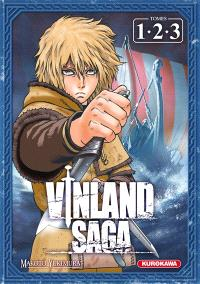 Coffret Vinland saga (1, 2, 3)