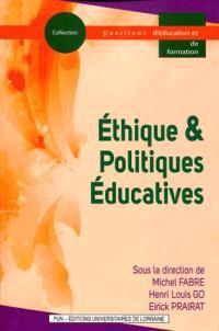 Ethique & politiques éducatives