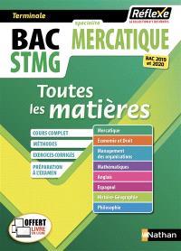 Bac STMG spécialité mercatique, terminale : toutes les matières