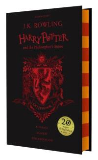 Harry Potetr and the philosopher's stone Gryffindor edition