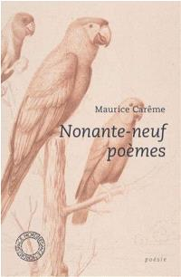 Nonante-neuf poèmes
