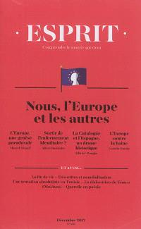Esprit. n° 440, Nous, l'Europe et les autres