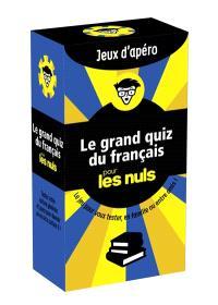 Le grand quiz du français pour les nuls
