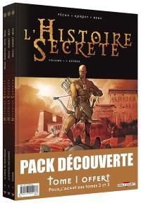 L'histoire secrète : pack découverte : tome 1 offert
