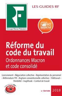 Réforme du code du travail : ordonnances Macron et code consolidé