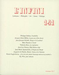 Infini (L'). n° 141