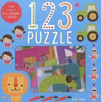 1, 2, 3 puzzle : 1 livre + 1 puzzle pour apprendre à compter !