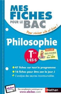 Philosophie terminale L, ES, S