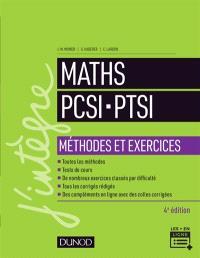 Maths PCSI, PTSI : méthodes et exercices