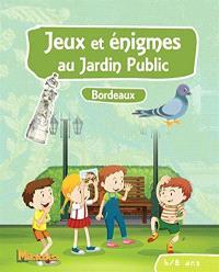 Jeux et énigmes au jardin public, Bordeaux : 6-8 ans