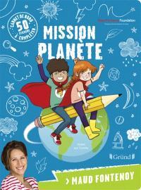 Mission planète : carnet de bord à compléter