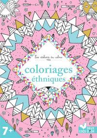 Coloriages ethniques