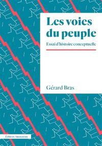 Les voies du peuple : éléments d'une histoire conceptuelle