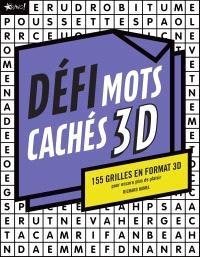 Défi Mots cachés 3D  : 155 grilles en format 3D