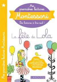 La fête de Lola; Précédé de Paco le canari