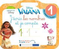 Vaiana : j'écris les nombres et je compte : 3-6 ans