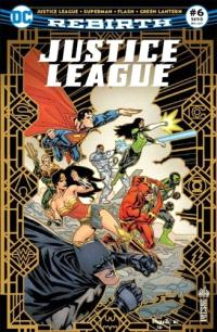 Justice league rebirth. n° 6