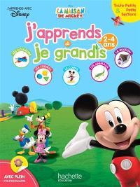 La maison de Mickey : j'apprends et je grandis : toute petite section & petite sections, 2-4 ans