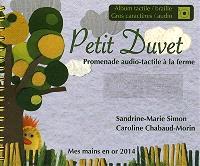 Petit Duvet : promenade audio-tactile à la ferme