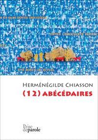 (12) abécédaires  : 12 x 26 = 312