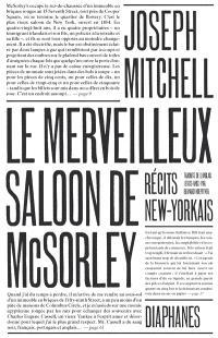 Le merveilleux saloon de McSorley : récits new-yorkais