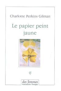 Le papier peint jaune