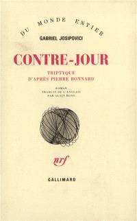 Contre-jour : triptyque d'après Pierre Bonnard
