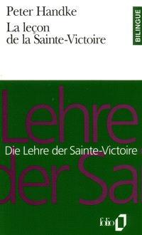 La leçon de la Sainte-Victoire = Die Lehre der Sainte-Victoire