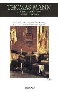 La Mort à Venise; Tristan; Le Chemin du cimetière