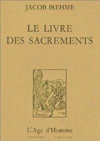 Le Livre des sacrements