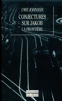 Conjectures sur Jakob : la frontière