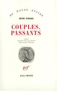 Couples, passants