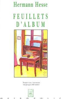 Feuillets d'album = Gedenkblätter : erinnerungen an Zeitgenossen
