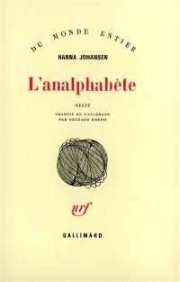 L'analphabète