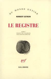 Le registre
