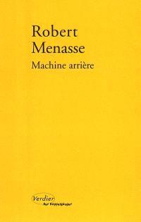 Machine arrière