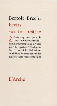 Ecrits sur le théâtre. Volume 2