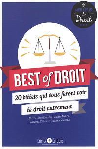Best of droit : 20 billets qui vous feront voir le droit autrement