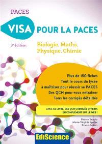 Visa pour la Paces : biologie, maths, physique, chimie