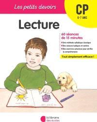 Lecture CP, 6-7 ans : 60 séances de 15 minutes