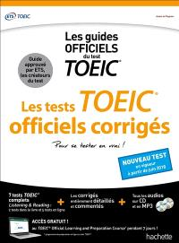 Les tests officiels corrigés : les guides officiels du TOEIC