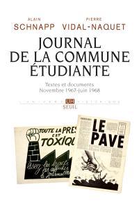 Journal de la Commune étudiante : textes et documents, novembre 1967-juin 1968
