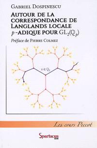 Autour de la correspondance de Langlands locale p-adique pour GL2(Qp) : cours Peccot, Collège de France : mai 2015