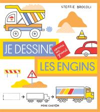 Je dessine comme un grand, Les engins
