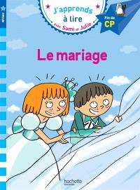 Le mariage : niveau 3, fin de CP