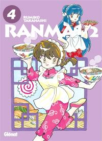 Ranma 1-2 : édition originale. Volume 4