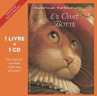 Le chat botté : 1 livre + 1 CD